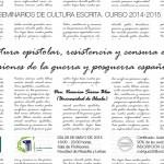 LA ESCRITURA EPISTOLAR POPULAR EN LA UNIVERSIDAD DE CANTABRIA