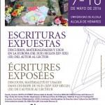 ESCRITURAS EXPUESTAS EN LA EUROPA DEL SUR (SIGLOS XIV-XXI). DEL AUTOR AL LECTOR