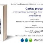 """PRESENTACIÓN DE """"CARTAS PRESAS"""" EN MADRID"""