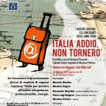 "DOCUMENTAL ""ITALIA ADDIO, NON TORNERÒ"""