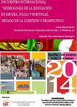 """ENCUENTRO INTERNACIONAL: """"MUSEOLOGÍA DE LA EDUCACIÓN EN ESPAÑA, ITALIA Y PORTUGAL. ESTADO DE LA CUESTIÓN Y PROSPECTIVA"""""""